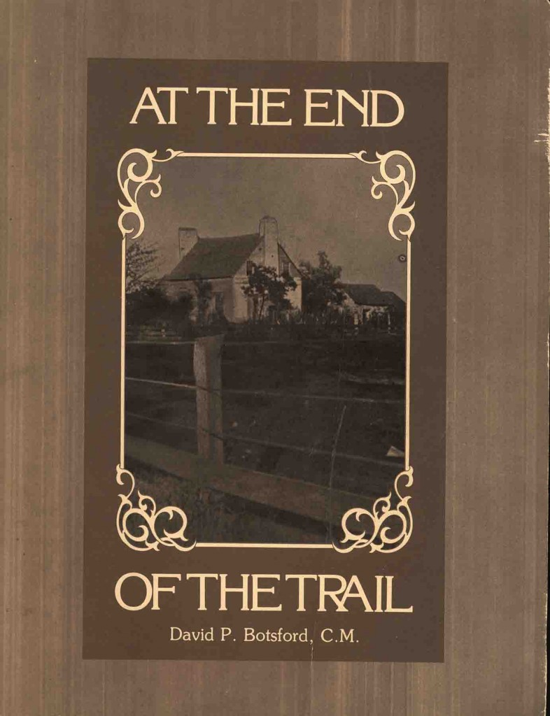 At The End Of The Trail cover image