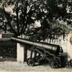 Cannon at the Entrance of Fort Malden National Historic Site