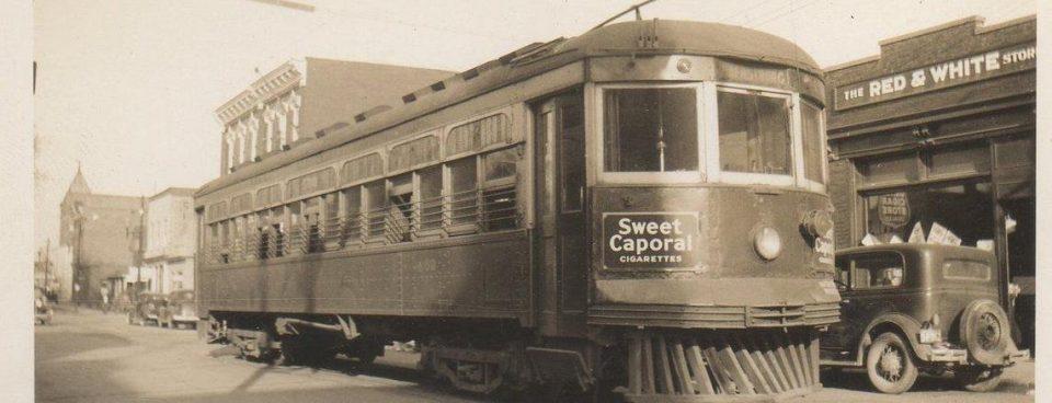 S.W.& A. Streetcar on Richmond Street